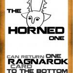 the horned one. Karakterkaart